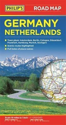 Philip's Germany and Netherlands Road Map by Philips Book The Cheap Fast Free