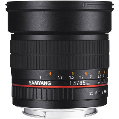 Samyang 85mm F1.4 AS IF UMC Lens in Sony E Fit