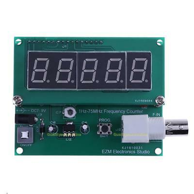 Digital LED 1Hz-75MHz Cymometer Meter High Sensitivity Frequency Meter Tester