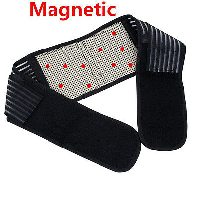 Magnetic Back Lumbar Support 18pcs Magnets Pain Relief Brace Belt Strap Protect