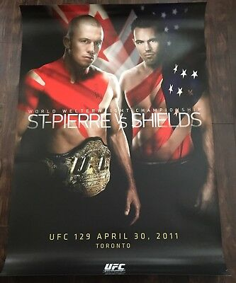 UFC Poster Lot, Limited Edition, Cancelled, Rare, GSP, Conor McGregor