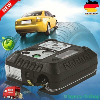 DC 12V Mutifunction Electric Auto Air Compressor Pump And Car Tire Inflator WE