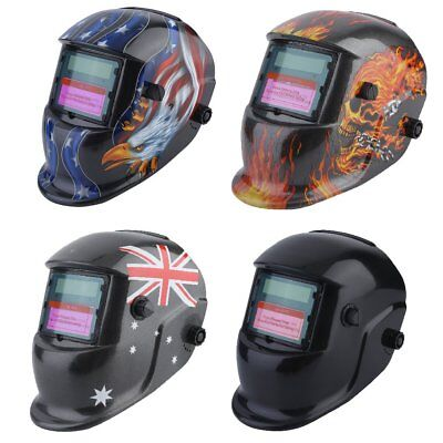 4 Types Pro Solar Power Auto Darkening Welding Helmet Mask High Quality AUS SYD