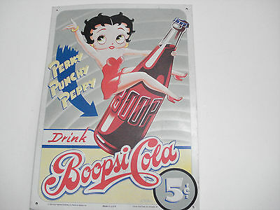 Betty Boop Tin Sign-BoopsiCola