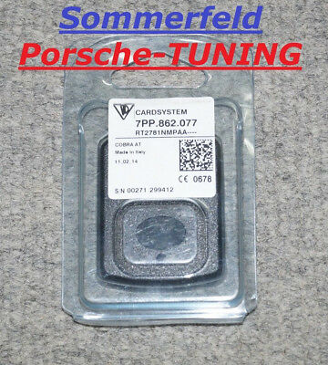 orig. Porsche Cardsystem 7PP862077 VTS Vehicle Tracking System Card