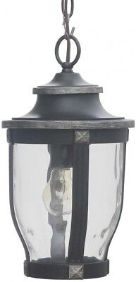Home Decorators Collection McCarthy 1 Light Bronze Outdoor Chain Hung Lantern