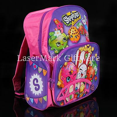 Brand new kids toddlers Shopkins backpack school bag Free Shipping
