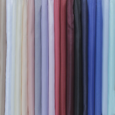 Anti Static Dress Lining Polyester woven fabric Many Colours - by the metre