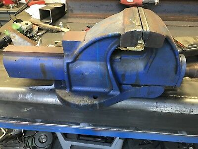 """LARGE RECORD Irwin NO 36 STEEL ENGINEERS VICE 6"""" JAWS HEAVY DUTY"""
