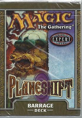 Magic The Gathering CCG Planeshift Barrage Sealed 60 Card Deck