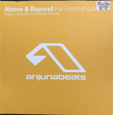 "Above And Beyond, Far From In Love 12"" Vinyl (ANJ-010)"