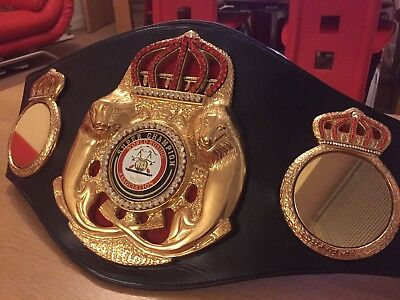 New Style WBA Super Champion Boxing Belt- most accurate replica -Custom Made