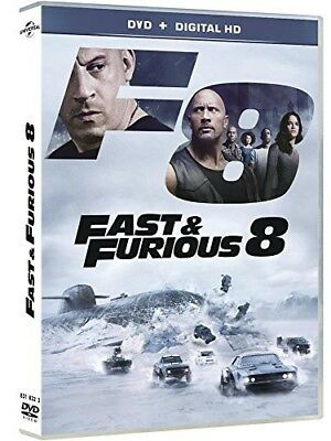 DVD Fast and Furious 8 - Vin Diesel,Jason Statham,F. Gary Gray