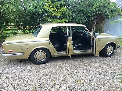Lovely 1971 Rolls Royce Silver Shadow I Chrome Bumpers