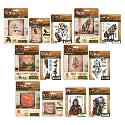 Sheena Douglass Call of the Wild Collection Dies Stamps Perfect Partners