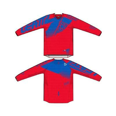 Maillot Leatt Gpx 4.5 Lite Rouge/Bleu Taille S