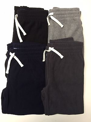 Childrens Place boys Polar Fleece pants with elasticated waist and Drawcord NWT.