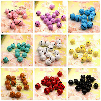 22mm Candy Color Craft Jingle Bells Holiday Home Bags Pets Dolls Toys Decoration