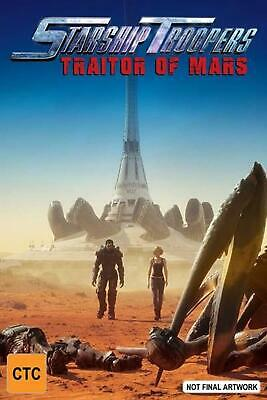 Starship Troopers - Traitor Of Mars - Blu Ray Region A,B,C Free Shipping!