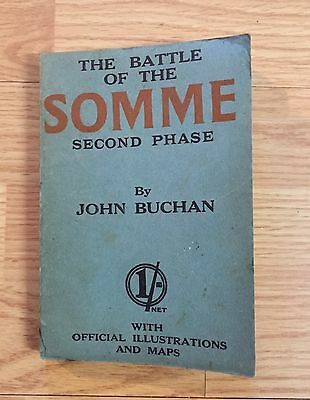 The Battle of Somme Second Phase by John Buchan (WWI)