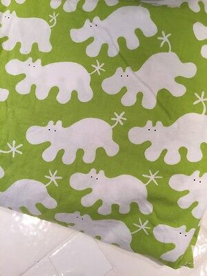 Barnslig Flodhast Ikea Child Duvet Cover Green Hippo (RF204)