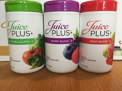 Juice PLUS+® Premium Capsules 3x120 SEALED BOTTLES (2 Months Supply)