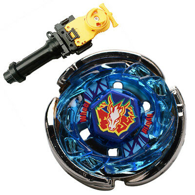 Storm Pegasus (Pegasis) BB-28 BEYBLADE Masters Fusion+Yellow wire launcher+Grip