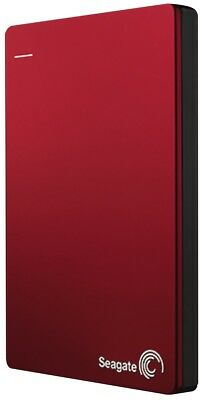 NEW Seagate 2505821 2TB Backup Plus Slim Portable HDD - Red