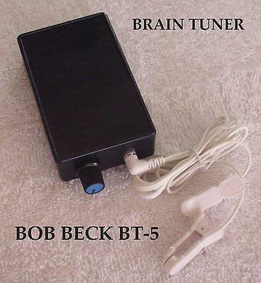 BOB BECK BRAIN TUNER BT-5  Cranial Electrotherapy Stimulation 1 YEAR WARRANTY