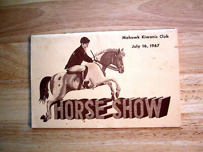 The Mohawk (N.y.) Kiwanis Annual Horse Program For July 16. 1967