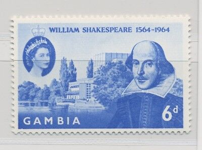 Gambia SG 192 Shakespeare MNH / **