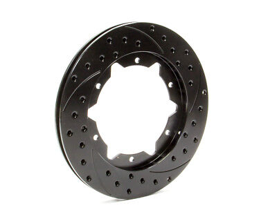 WILWOOD 11 in  Pass Directional/Drilled/Slotted SRP Brake Rotor P/N 160-7099-BK