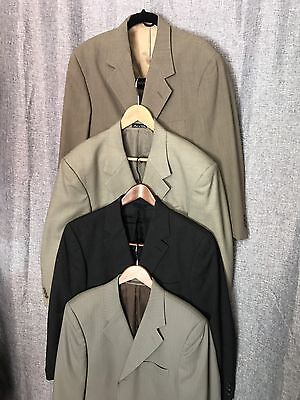MENS SPORT BLAZER 4 JACKETS PERRY ELLIS J CREW And Other Brands 40S-41R