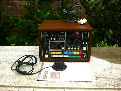✯EXCEPTIONAL✯Vintage 1978 ROLAND CR-78 ANALOG Drum Machine 220v✯100%+PROGRAMMER!