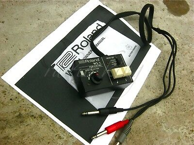 ✯EXCEPTIONAL✯ULTRA RARE Vintage 1978 ROLAND WS-1 *CR-78 PROGRAMMER ✯100%✯AMAZING
