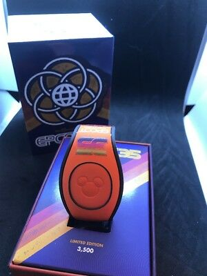 Epcot 35th Anniversary Limited Edition MagicBand Magic Band Limited 3500 New