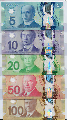 Canada Currency, Mackem/Carney Series, UNC, Cat $230.00.