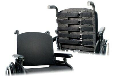 """18"""" Wheelchair Adjustible Back Upholstery """"padded Back & Cover"""" New"""