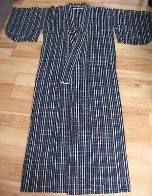 Vintage Japanese Yukata Cotton Kimono - Small - hand made very old