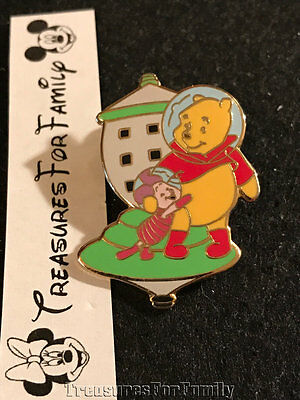 Disney LE Pin Winnie the Pooh Piglet Space Age Series Astronaut FREE SHIP