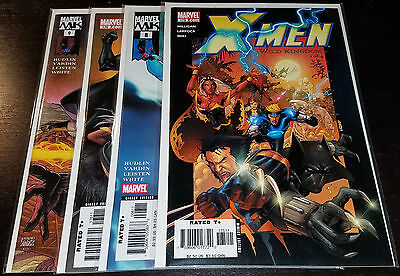 Black Panther #8-9 X-Men #175-176 Wild Kingdom Hudlin Marvel Comics