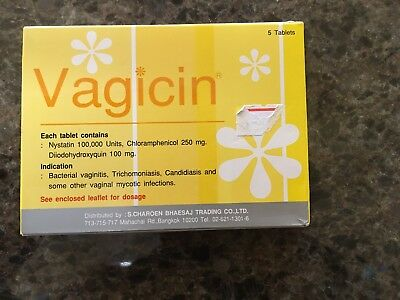 Vagicin, vaginal tablets thrush candidiasis treatment super effective