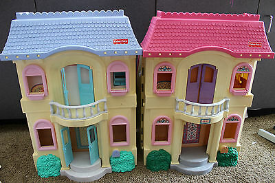 Fisher Price Loving Family Dream doll House REPLACEMENT Part WINDOWS  READ