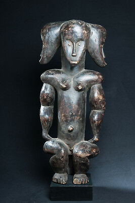Fang, Janus Reliquary Figure, Central Gabon, African Tribal Art.
