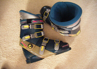 """R O S S I N G N O L -R 800 ""  SKI BOOTS, made in ITALY ,, GOOD  CONDITION"