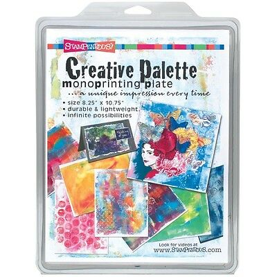 """Stampendous Creative Palette Monoprinting Plate -8.5""""X11"""""""