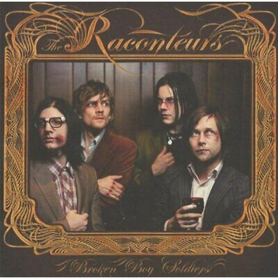 The Raconteurs - Broken Boy Soldiers - The Raconteurs CD L4VG The Cheap Fast The