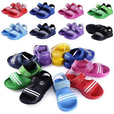 Boys Girls Kids Childrens Summer Beach Casual Walking Sports Sandals Shoes Size