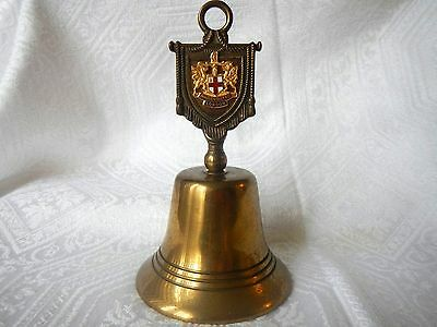 Vintage Brass Bell London England