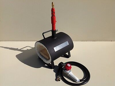Propane Forge Knife Making Blacksmith Gas Forge Farriers furnace Regulator U.S.A